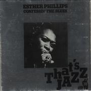 Esther Phillips Confessin' The Blues Germany vinyl LP