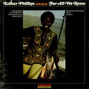 Click here for more info about 'Esther Phillips - For All We Know - Sealed'