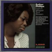 Esther Phillips From A Whisper To A Scream - EX UK vinyl LP