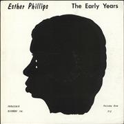 Esther Phillips The Early Years USA vinyl LP