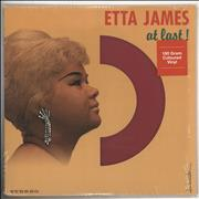 Etta James At Last! - 180gm Red Vinyl + Shrink Russia vinyl LP
