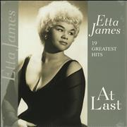 Etta James At Last: 19 Greatest Hits + Shrinkwrap Netherlands vinyl LP