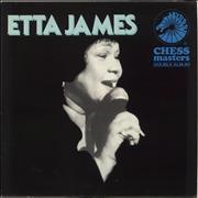 Etta James Chess Masters UK 2-LP vinyl set