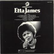 Etta James Chess Masters UK vinyl LP