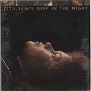 Etta James Deep In The Night USA vinyl LP