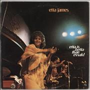 Etta James Etta Is Betta Than Evvah USA vinyl LP