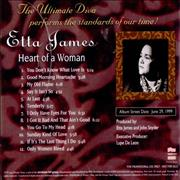 Click here for more info about 'Etta James - Heart Of A Woman'