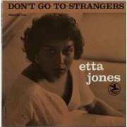 Etta Jones Don't Talk To Strangers USA vinyl LP