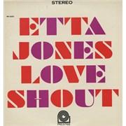 Etta Jones Love Shout USA vinyl LP