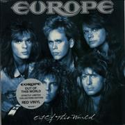 Click here for more info about 'Europe - Out Of This World - Red Vinyl'