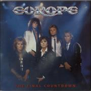 Click here for more info about 'Europe - The Final Countdown + Poster'