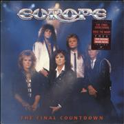 Click here for more info about 'Europe - The Final Countdown - Stickered Sleeve + Poster'
