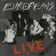 Click here for more info about 'Europeans - Live'