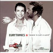 Click here for more info about 'Eurythmics - Peace Is Just A Word'
