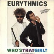 Click here for more info about 'Eurythmics - ¿Quien Es Esa Chica?'