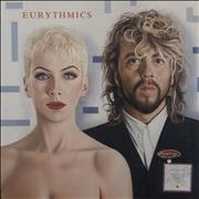 Click here for more info about 'Eurythmics - Revenge - 1st - Stickered + Insert'