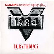 Click here for more info about 'Eurythmics - Sexcrime'
