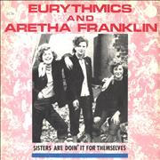 Click here for more info about 'Eurythmics - Sisters Are Doin' It For Themselves - Smokers sleeve'