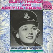 Click here for more info about 'Eurythmics - Sisters Are Doin' It For Themselves - WRAF sleeve'