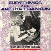 Click here for more info about 'Eurythmics - Sisters Are Doin' It For Themselves - Typist sleeve'