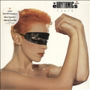 Click here for more info about 'Eurythmics - Touch + Merchandise insert'