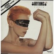Eurythmics Touch + Poster Australia vinyl LP