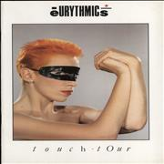 Click here for more info about 'Eurythmics - Touch Tour + Ticket Stub'