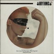 Eurythmics Touch UK picture disc LP