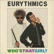 Click here for more info about 'Eurythmics - Who's That Girl?'