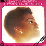 Click here for more info about 'Evelyn 'Champagne' King - I Don't Know If It's Right'