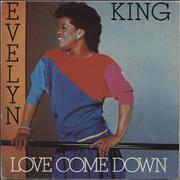 Click here for more info about 'Evelyn 'Champagne' King - Love Come Down + Sleeve'
