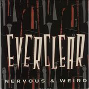 Click here for more info about 'Nervous & Weird - Red / Clear Vinyl'