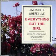Click here for more info about 'Everything But The Girl - Love Is Here Where I Live'