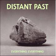 """Everything Everything Distant Past UK 7"""" vinyl"""
