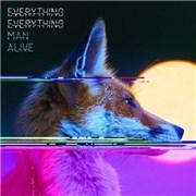Everything Everything Man Alive UK CD album