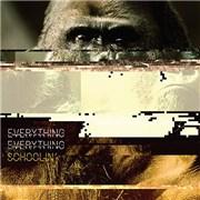 "Everything Everything Schoolin' UK 7"" vinyl"