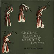 Click here for more info about 'Exeter Diocesan Choral Association - Music From The Festival Services 1971 & 1972'