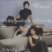 Click here for more info about 'Expose - I Say Goobye For The Two Of Us'