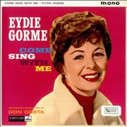 Click here for more info about 'Eydie Gormé - Come Sing With Me - Factory Sample'