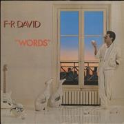 Click here for more info about 'F. R. David - Words'