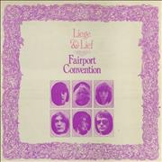 Click here for more info about 'Fairport Convention - Liege & Lief - 1st - VG'