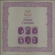 Click here for more info about 'Fairport Convention - Liege & Lief - 2nd - EX'