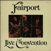 Click here for more info about 'Fairport Convention - Live Convention - Blue label'