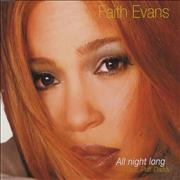 Click here for more info about 'Faith Evans - All Night Long'