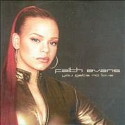 Click here for more info about 'Faith Evans - You Gets No Love'