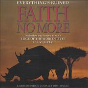 Click here for more info about 'Faith No More - Everything's Ruined - Part 1 & 2'