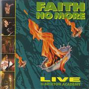 Click here for more info about 'Faith No More - Live At The Brixton Academy'