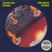 Click here for more info about 'Faith No More - The Real Thing - Number Stickered'