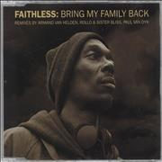 Click here for more info about 'Faithless - Bring My Family Back - CD2 - 1st Edition'