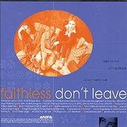 Click here for more info about 'Faithless - Don't Leave'